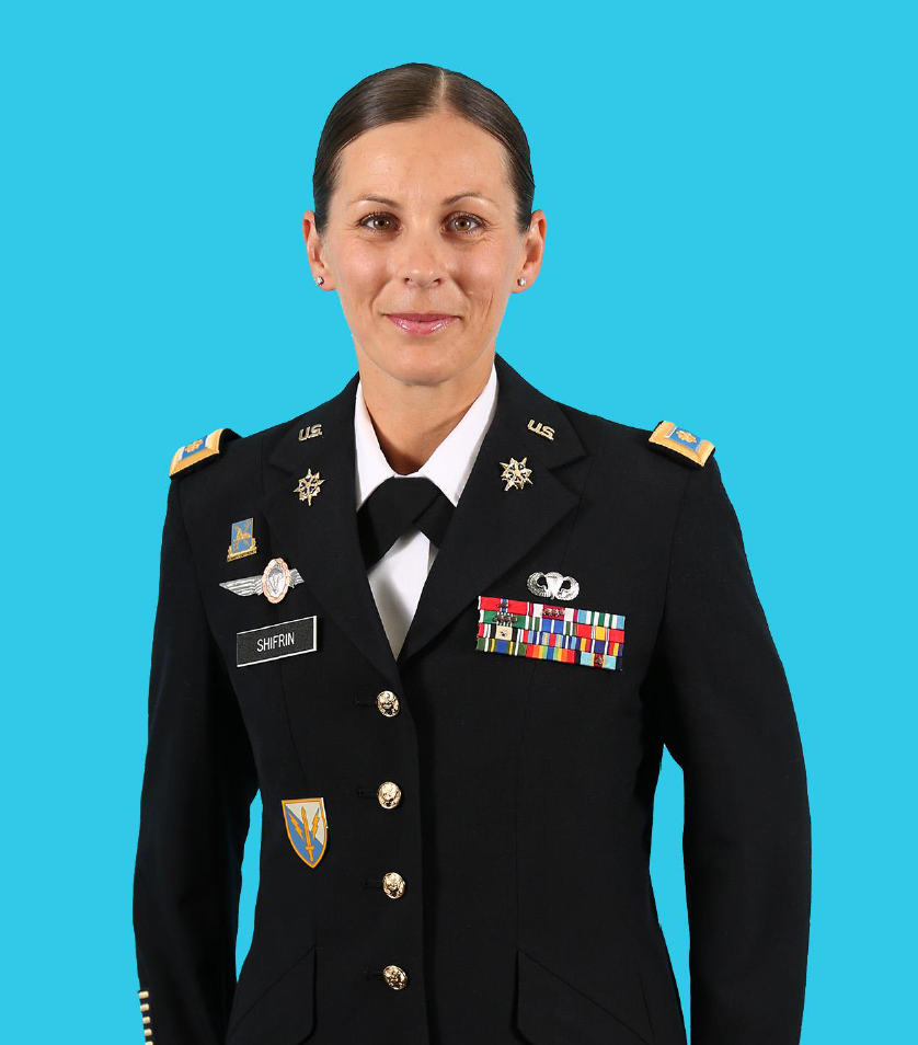 MAJ Kristen Marie Shifrin, Chair and Professor of Military Science