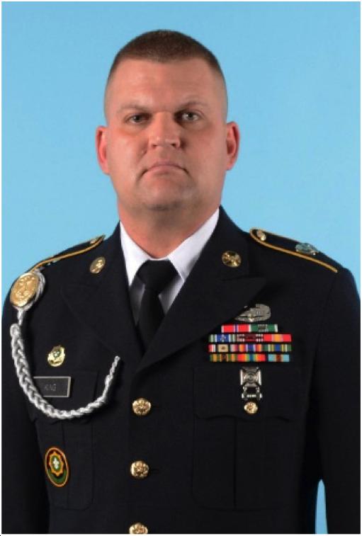 SFC Jason King, Military Science Instructor