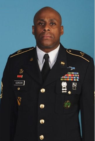 SFC Garrie Garfield Gordon, Military Science Instructor