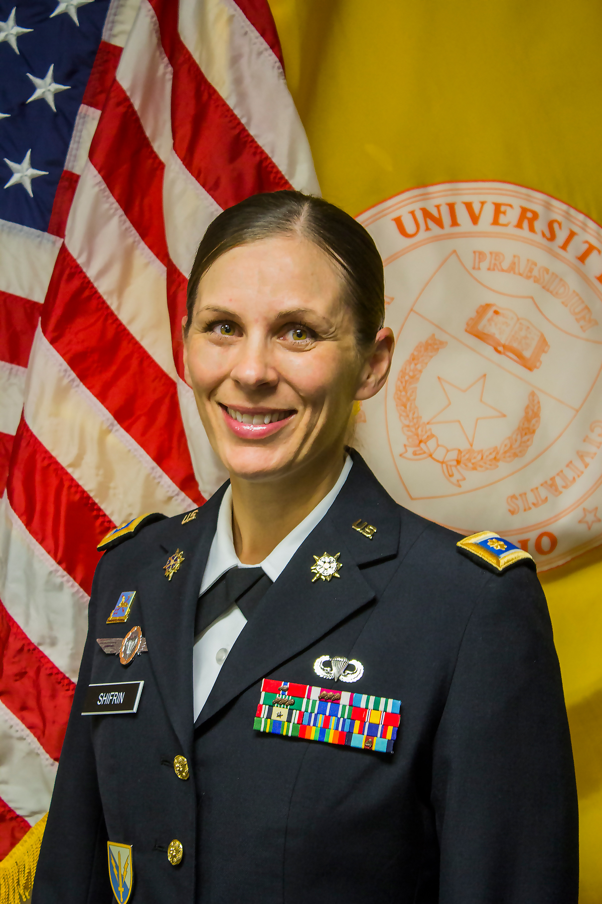 LTC Shifrin, Department Chair and Professor of Military Science