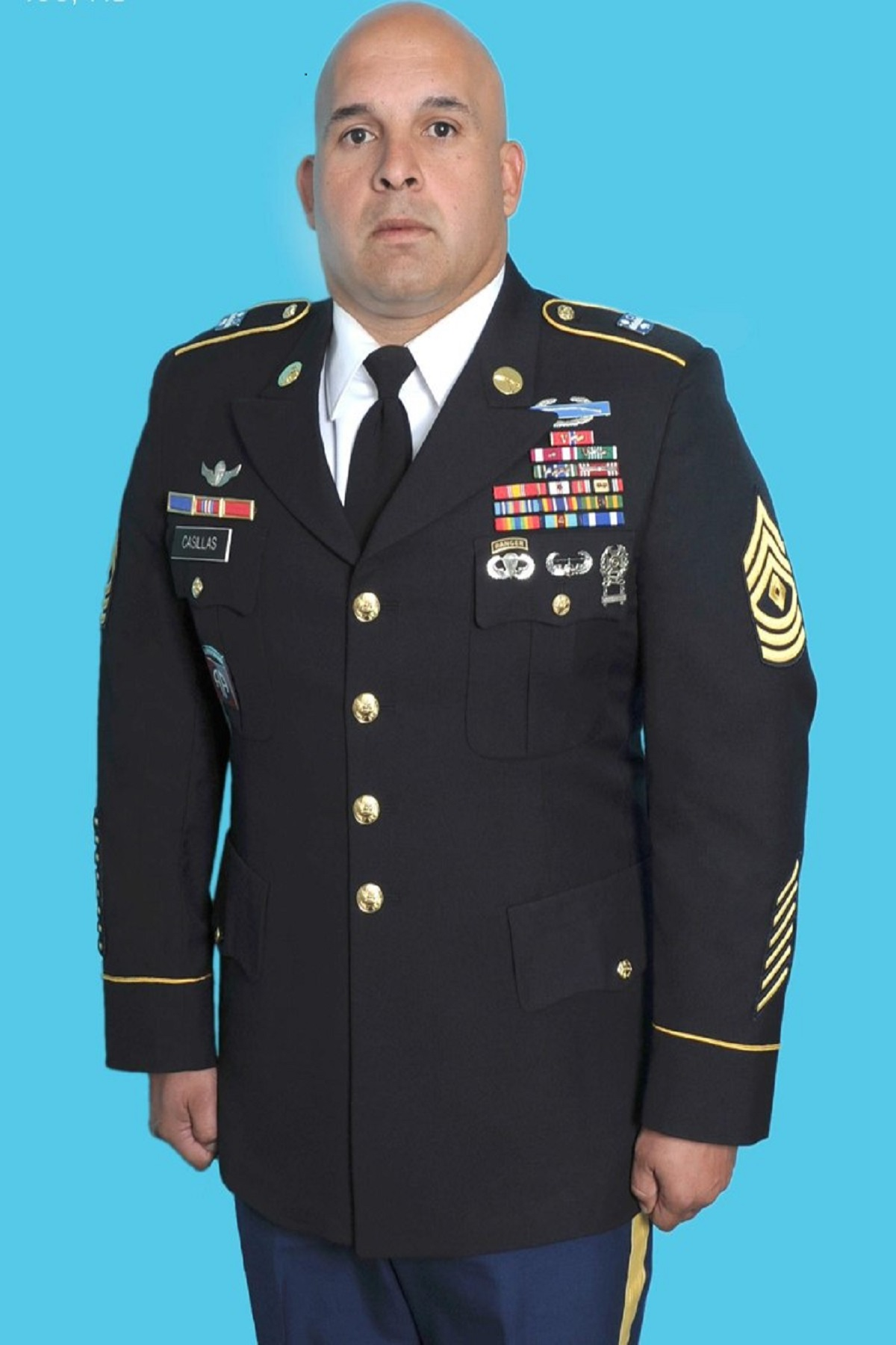 MSG Casillas, Military Science Instructor