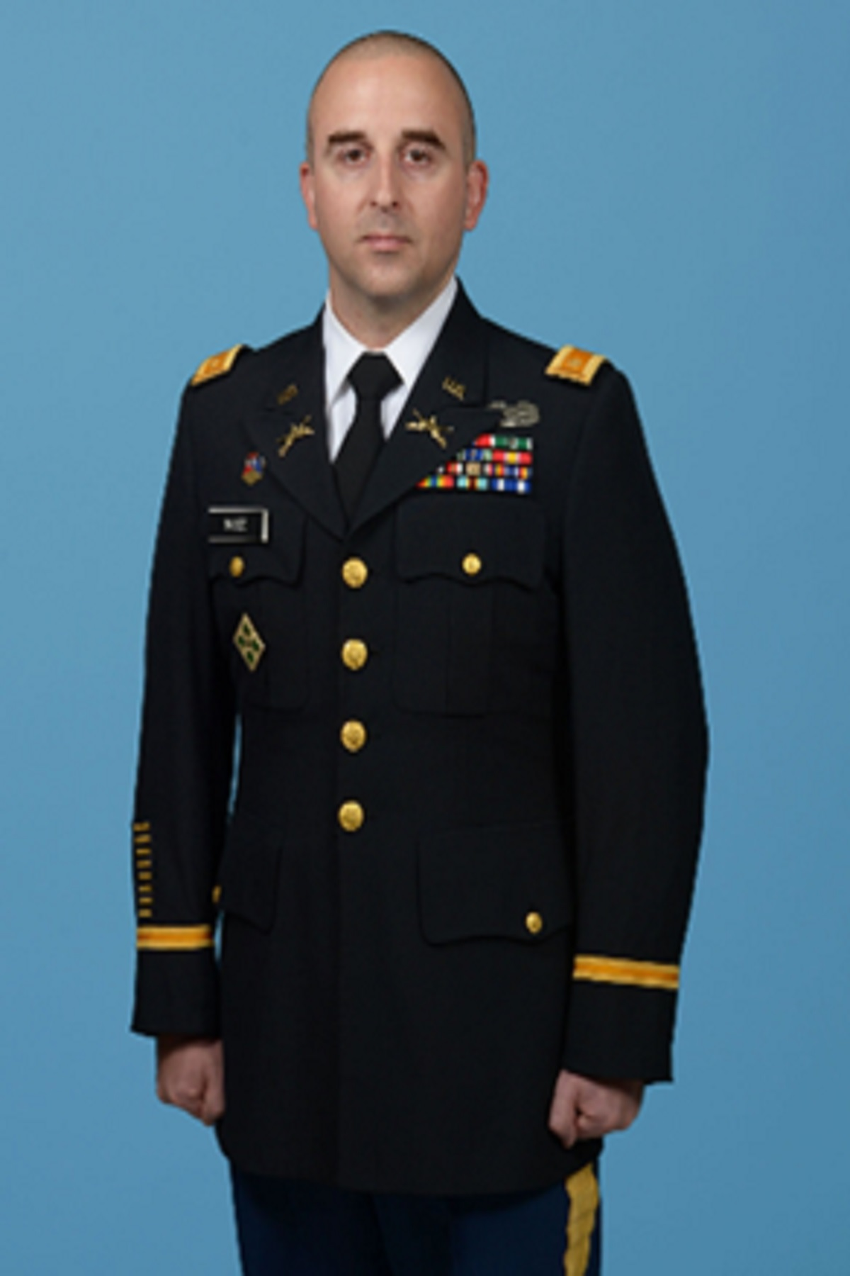 MAJ Kristopher Rose, S3/Assistant Professor of Military Science