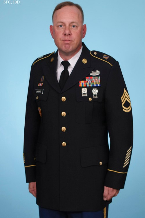 SFC Jeremy Chinnis, Military Science Instructor