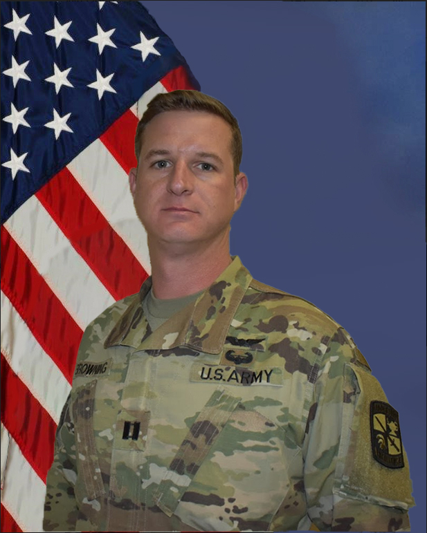 CPT Jason Browning, Recruiting Operations Officer