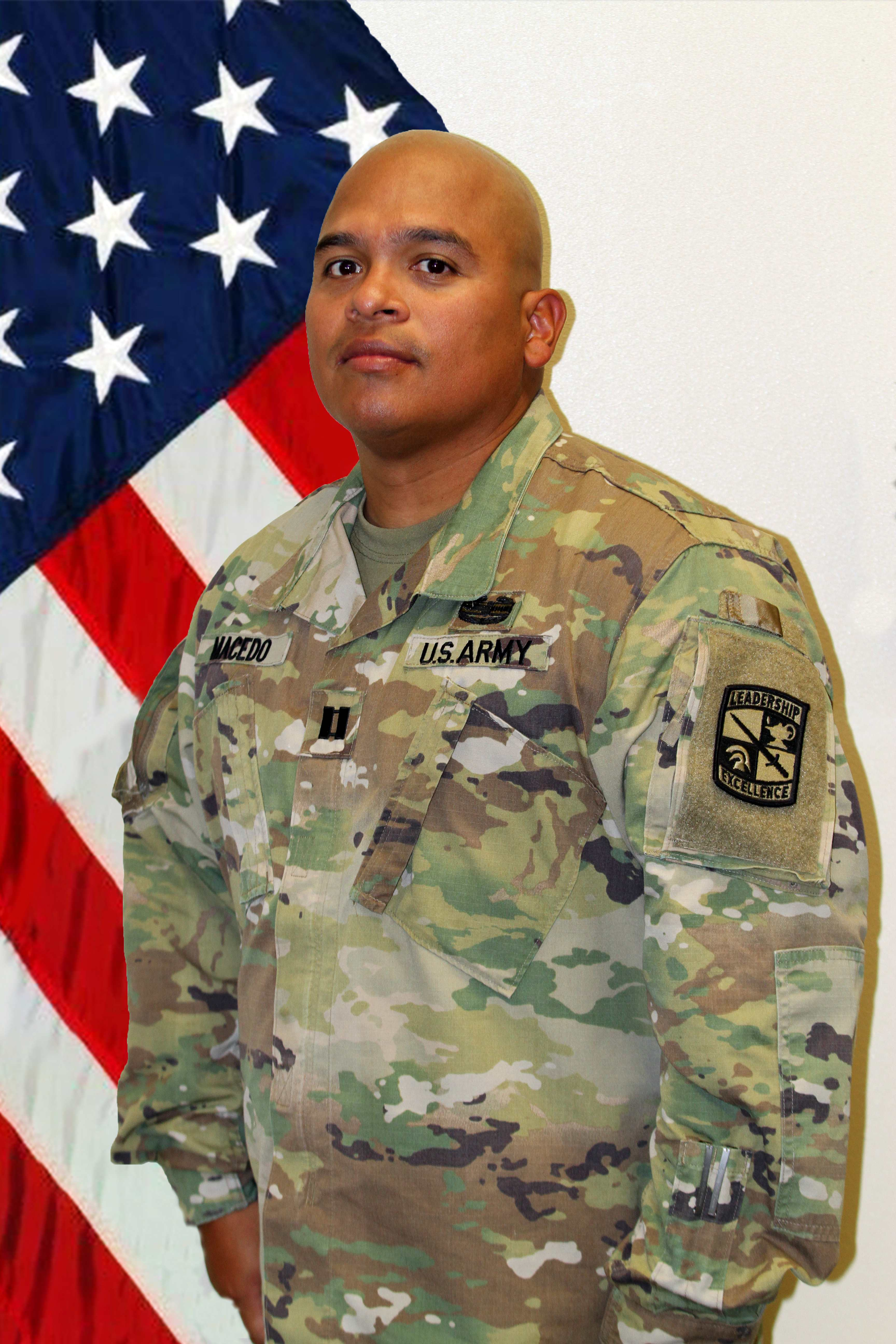 CPT Macedo, XO/Assistant Professor of Military Science